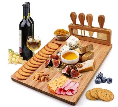 Hossejoy Bamboo Cheese Board Set