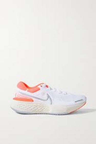 ZoomX Invincible Run Neoprene-Trimmed Flyknit Sneakers