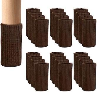 BLENDNEW Furniture Leg Socks (24 Pack)