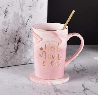 YHRJWN Best Mom Ever Coffee Mug