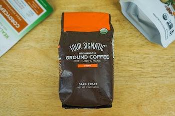 Four Sigmatic mushroom coffee packet