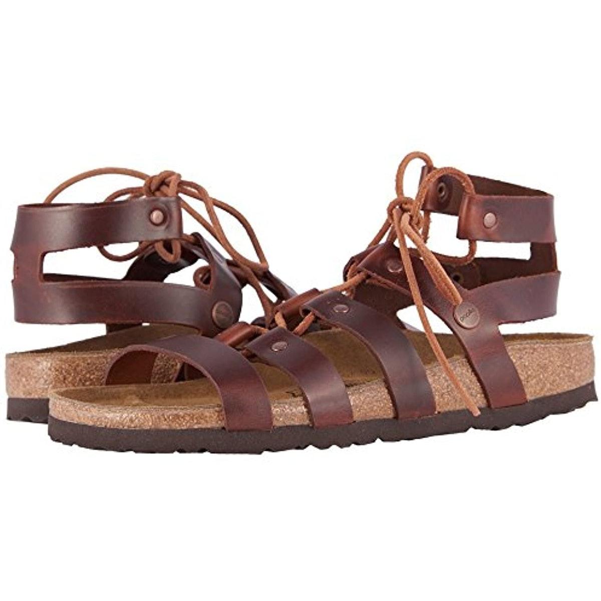 Birkenstock Papillio Cleo Leather Sandals