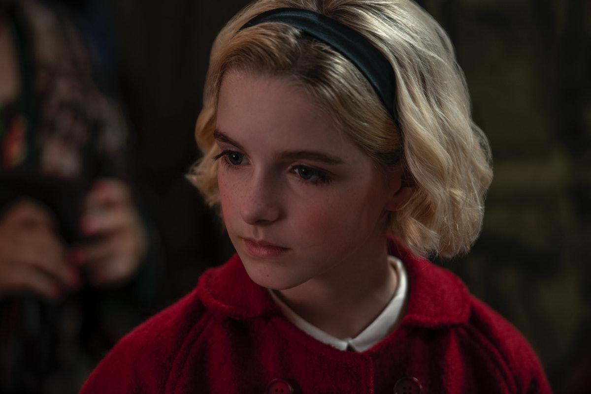 Mckenna Grace as Young Sabrina in Chilling Adventures of Sabrina