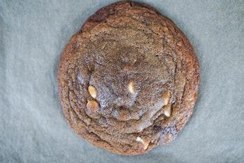 Real Ingredients mega 10 mushroom supplement baked cookie