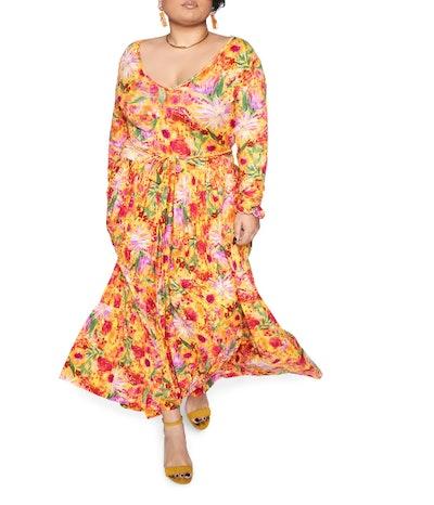 Blissful Long Sleeve Maxi Dress