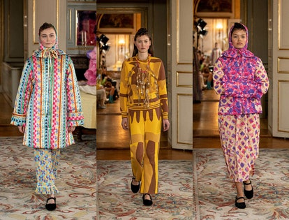 Looks from Helmstedt's fall 2020 collection showed at Copenhagen Fashion Week.