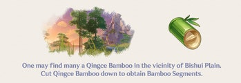 Bamboo Segemtns Genshin Impact Farming Location