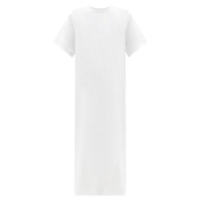 Aprile side-slit cotton-jersey T-shirt dress
