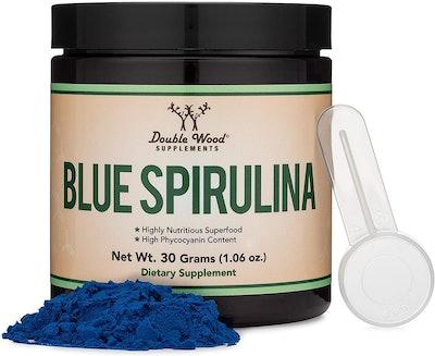 Double Wood Supplements Blue Spirulina (1.06 Oz.)