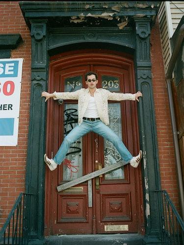 Eli Brown in doorway