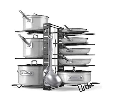 Devan Pots and Pans Adjustable Organizer