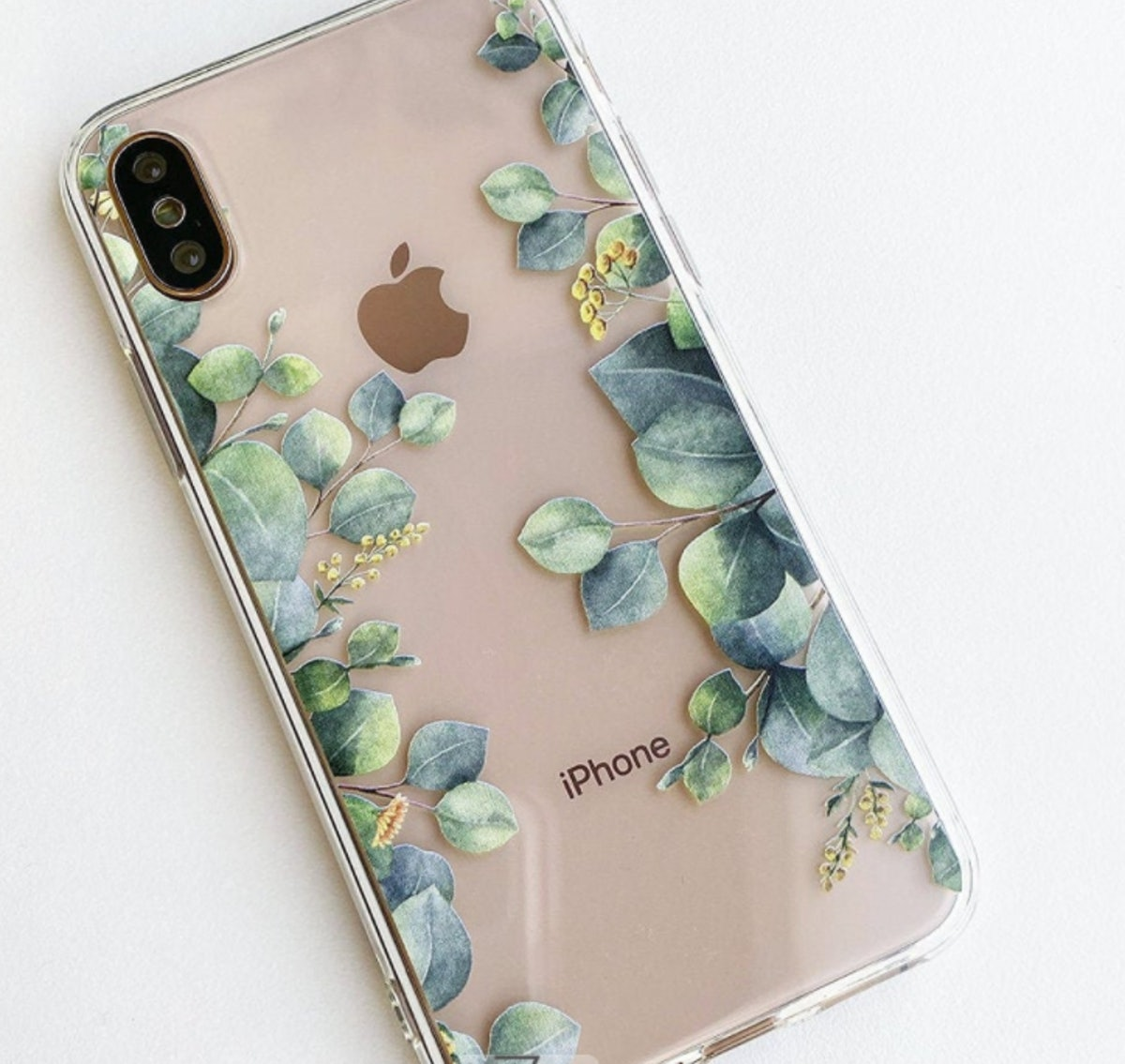 Eucalyptus Clear iPhone 12 Case