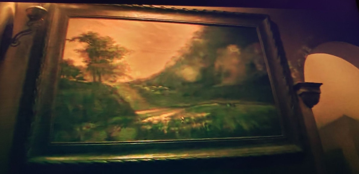 The DeKappel painting in Shadow and Bone