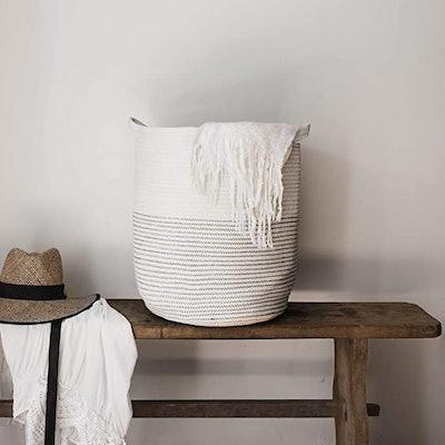 GooBloo Extra Large Woven Storage Basket