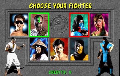 'Mortal Kombat' 1992 video game