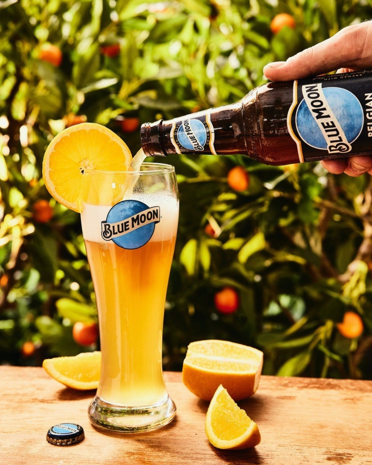 Here's how to enter Blue Moon's Tree Farm sweepstakes for a chance to win a year of free brews.