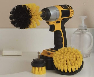 Useful Products Drill Brush Power Scrubber Attachment