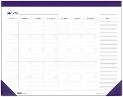 House of Doolittle Non-Dated Desk Pad Calendar