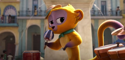 Lin-Manuel Miranda stars as 'Vivo' in Netflix's new animated film, Vivo.
