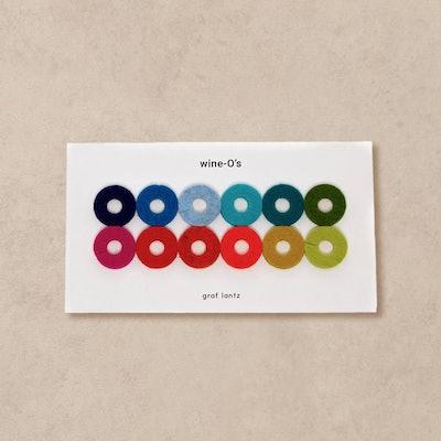 Graf Lantz Wine-O's Round Glass Markers