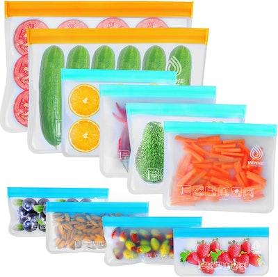 VEHHE Reusable Storage Bags (10- Pack)