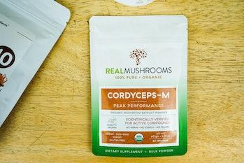Real Mushrooms cordyceps-M mushroom packet