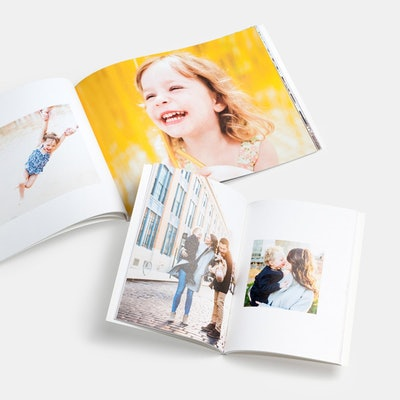 """5.5 x 5.5"""" Softcover Photo Book"""