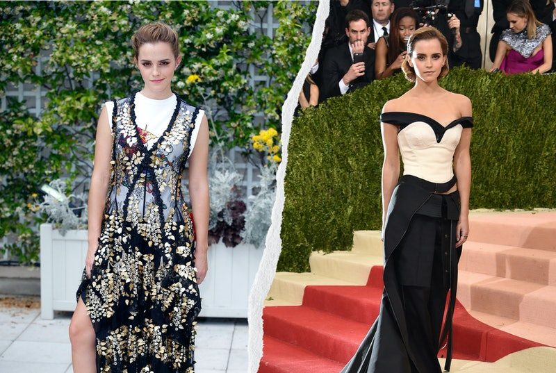 Emma Watson's Sustainable Fashion Outfits Made Red Carpet History