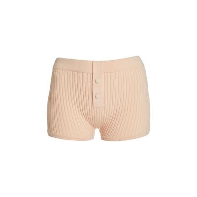 Ribbed-Knit Boy Short