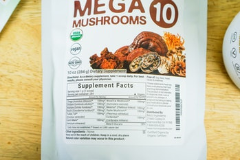 Micro Ingredients mushroom powder supplement mega 10 packet