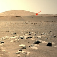 Ingenuity photo shows a spectacular new view of Perseverance on Mars