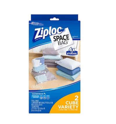 Ziploc Reusable Clothes Storage Bags