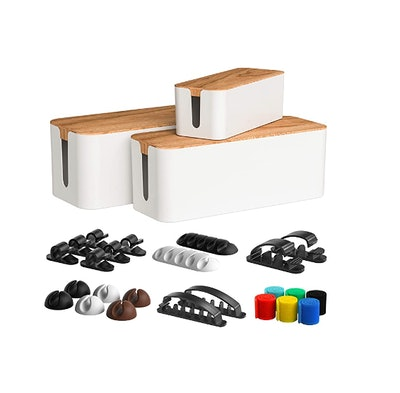 CABLE GARDEN Cable Management Box (3-Pack)