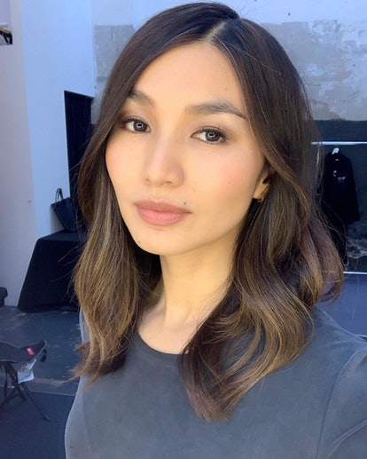 Best Celebrity No-Makeup Moments: Gemma Chan.