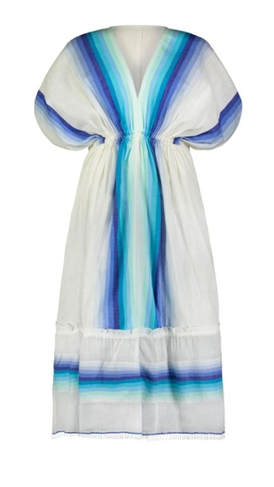 Teref Plunge Neck Dress