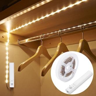Amagle Motion Sensor Strip Lights for Closet