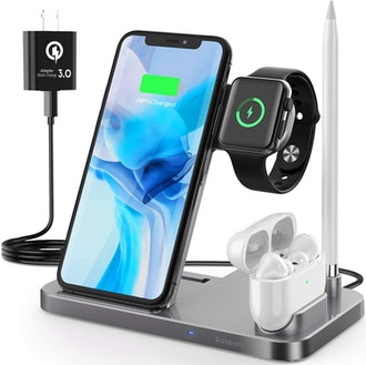 Saferell 4 in 1 Wireless Charging Station