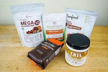 mushroom supplement packets