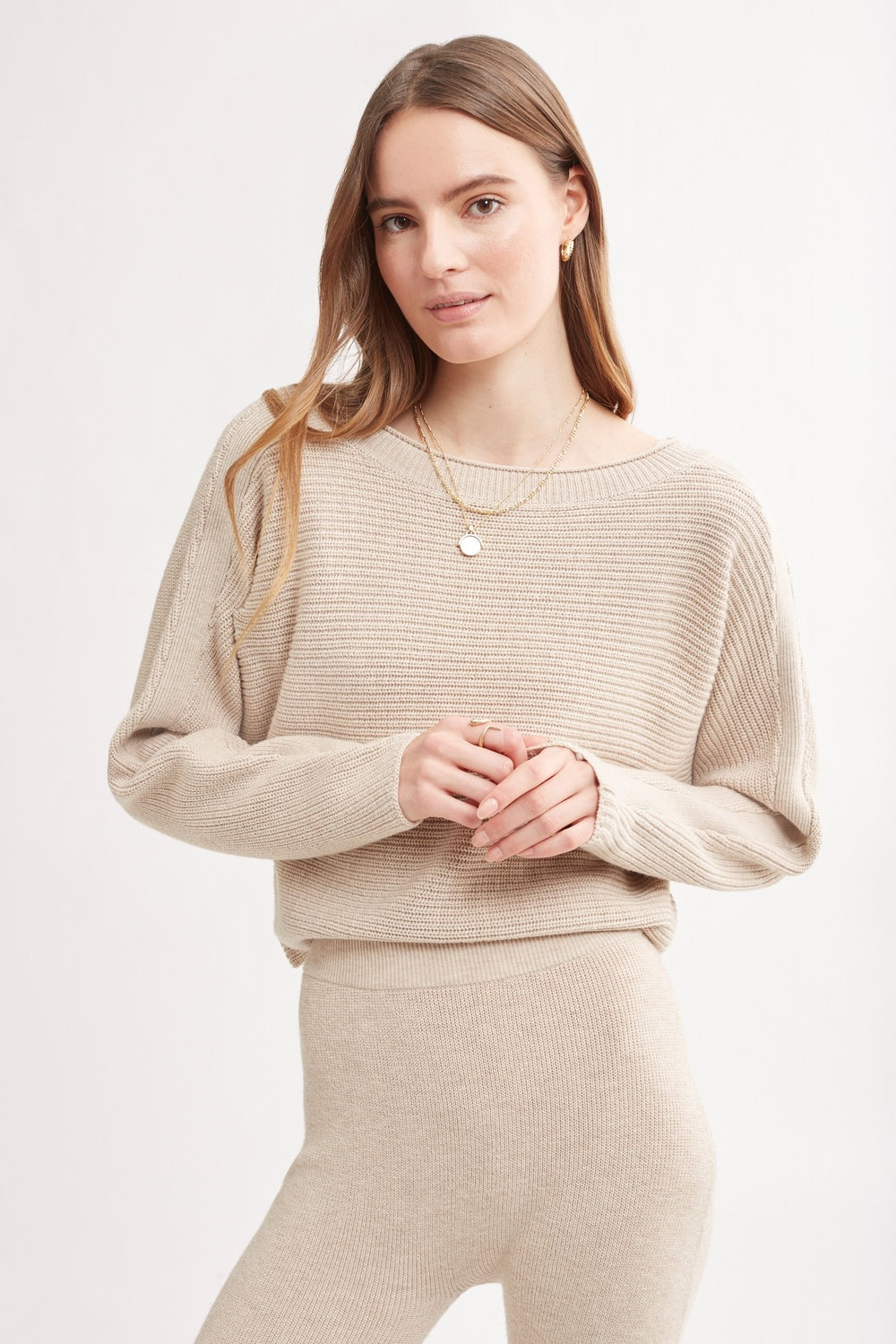 Lodi Ribbed Knit Pullover Sweater
