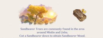 Sandbearer Wood Genshin Impact Farming Location