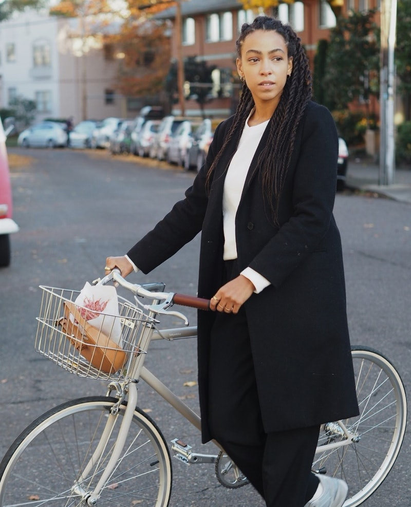 woman on bike the benefits of bicycling