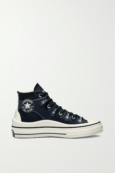 Chuck 70 Canvas and TPU High-Top Sneakers