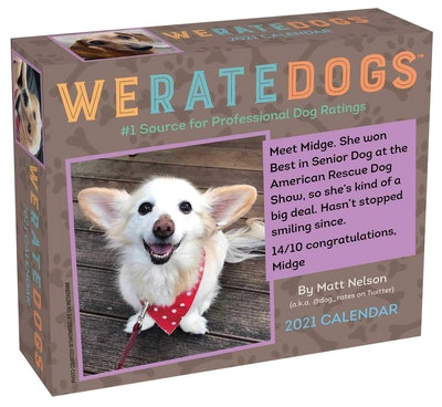 WeRateDogs 2021 Day-to-Day Calendars
