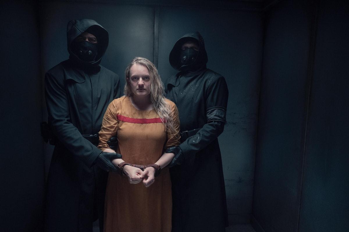 Elisabeth Moss as June in The Handmaid's Tale