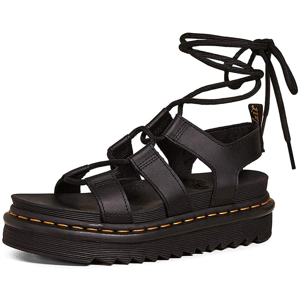 Dr. Martens Gladiator Ankle-Tie Sandals