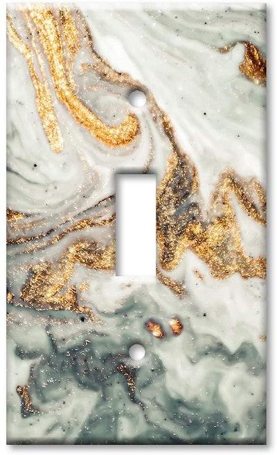 Art Plates Granite Switch Plate