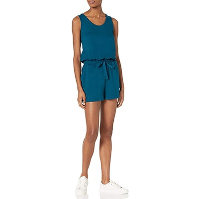 Daily Ritual Terry Sleeveless Relaxed Fit Romper