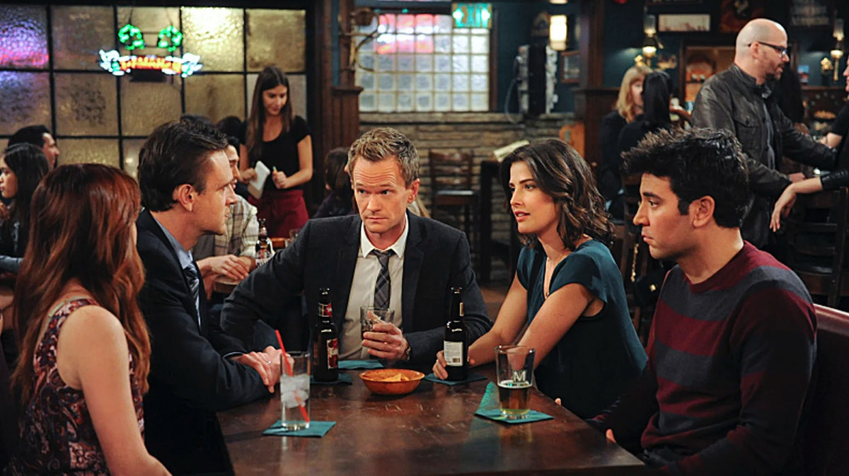 Thee cast of CBS's 'How I Met Your Mother'