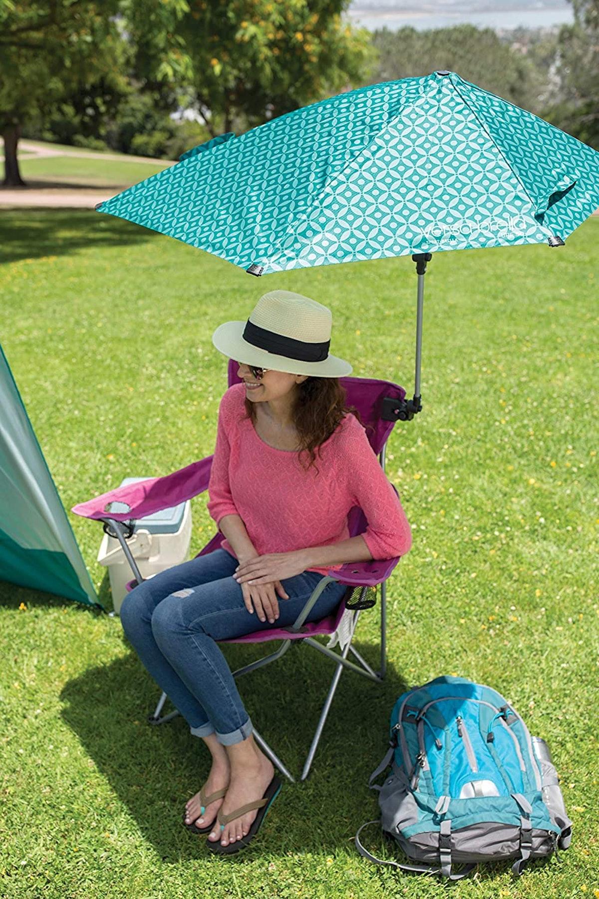 Sport-Brella Adjustable Umbrella With Universal Clamp