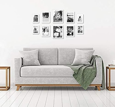 Americanflat White Gallery Wall Picture Frame Set (10-Piece)